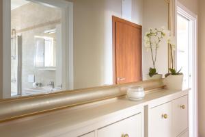 A bathroom at Luxury Apartments Villa Luce
