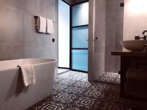 Een badkamer bij Hotel Waterrijk Oesterdam
