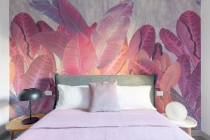Letto o letti in una camera di Twin Flowers apartment in San Giovanni