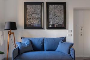Area soggiorno di Twin Flowers apartment in San Giovanni