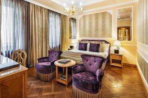 Zona de estar de Baglioni Hotel Carlton - The Leading Hotels of the World