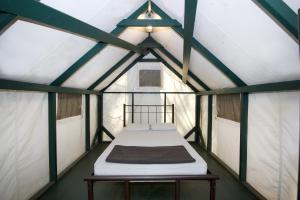 A bunk bed or bunk beds in a room at Curry Village