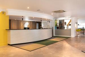 The lobby or reception area at Holiday Inn Norwich, Ipswich Road