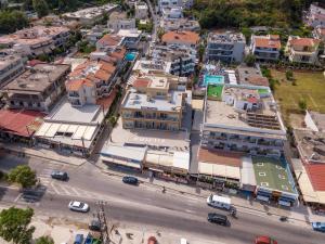 A bird's-eye view of Filmar Hotel