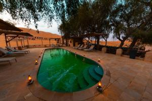 The swimming pool at or near Thousand Nights Camp