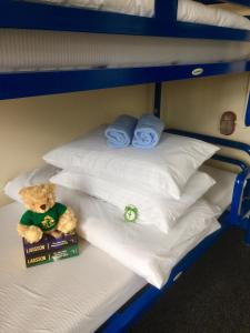 Un ou plusieurs lits dans un hébergement de l'établissement Kinlay House Hostel Cork