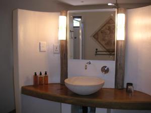 A bathroom at Afrikhaya Guest House