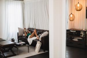 En sittgrupp på Purohotel Palma