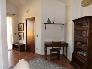 Area soggiorno di Attico De Gasperi