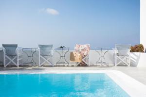 The swimming pool at or near Remezzo Villas