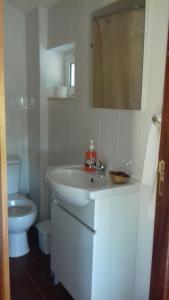 A bathroom at Quinta Das Lameirinhas