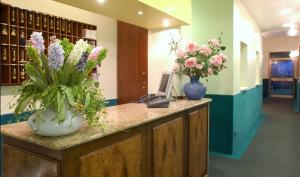 The lobby or reception area at Atlantide Hotel