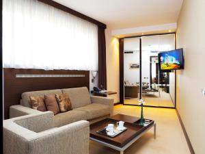 Prostor za sedenje u objektu IN Hotel Beograd