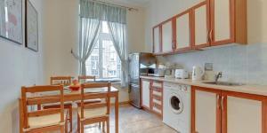 Kuchnia lub aneks kuchenny w obiekcie Apartament Piwna