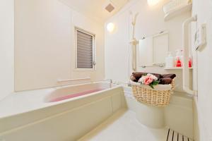 A bathroom at Terrace Terano#101