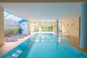 Der Swimmingpool an oder in der Nähe von Aux Tanneries de Wiltz
