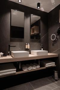 A bathroom at MY HOTEL MALMEDY