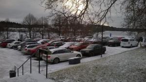 Hämeenkylän Kartano žiemą