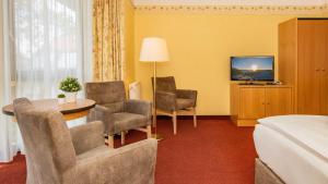 A seating area at Hotel Garni Nussbaumhof