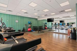 The fitness centre and/or fitness facilities at Holiday Inn Express & Suites Orlando- Lake Buena Vista
