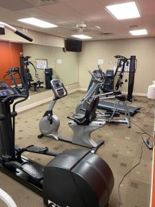 The fitness center and/or fitness facilities at Northfield Inn Suites and Conference Center