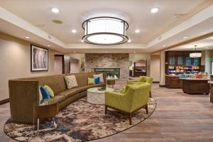The lobby or reception area at Homewood Suites by Hilton Pleasant Hill Concord