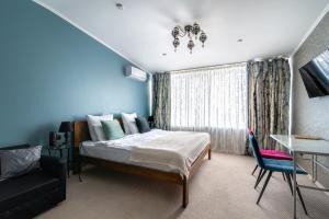 Кровать или кровати в номере One Sea Boutique Apartment