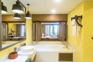 Et badeværelse på New Star Beach Resort