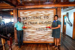 Guests staying at La Digue Island Lodge