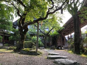 A garden outside Chikurinin Gunpoen