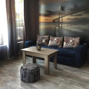 A seating area at Nimako's Apartment