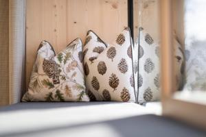 Ein Bett oder Betten in einem Zimmer der Unterkunft Hotel Tann