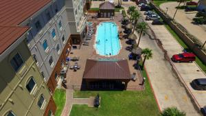 A view of the pool at Holiday Inn Express Hotel and Suites South Padre Island or nearby