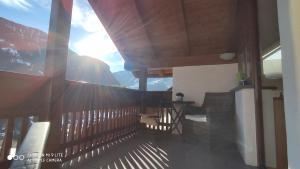 Ein Balkon oder eine Terrasse in der Unterkunft Apartment Manuel