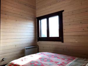 Cama o camas de una habitación en CASA MIRALCEL