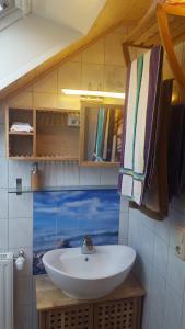 Ein Badezimmer in der Unterkunft Kaline 1
