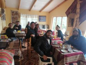 A restaurant or other place to eat at Hostal palacio del inca