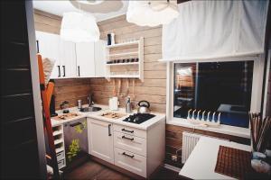 Кухня или мини-кухня в Карьяла Парк