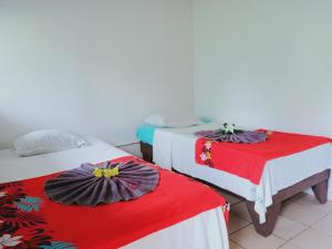 A bed or beds in a room at Olivias Accommodation