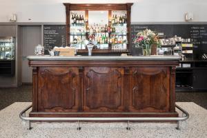 Lounge oder Bar in der Unterkunft Altstadt Hotel