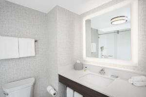 A bathroom at Holiday Inn Express & Suites - Ottawa Downtown East