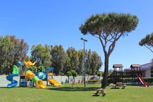 Children's play area at Villaggio Turistico La Cecinella