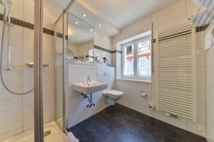 Ein Badezimmer in der Unterkunft Hotel Kirchhainer Hof