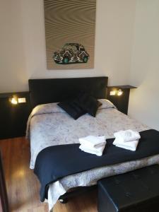 Cama o camas de una habitación en Megaride Guest House