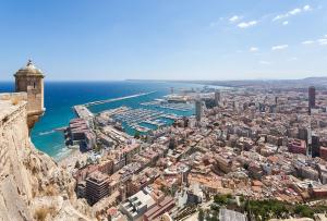 A bird's-eye view of Occidental Alicante by Barceló