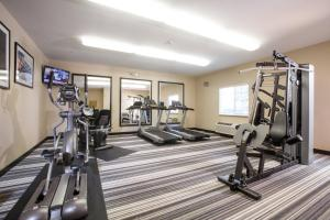 The fitness center and/or fitness facilities at Candlewood Suites New Braunfels