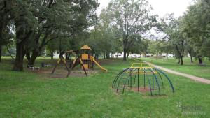 Children's play area at Rona Apartments Volta