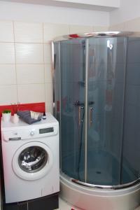 A bathroom at Apartament Tiffany