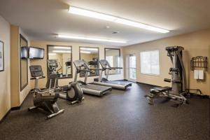 The fitness center and/or fitness facilities at Candlewood Suites Decatur Medical Center