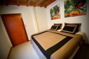 Cama ou camas em um quarto em Luxury Bungalow